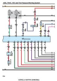 2004 07 toyota corolla matrix electrical wiring diagram em0350u
