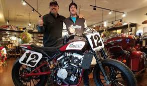 Progressive AFT - News - National No. 12 Jay Maloney to Ride Indian  Motorcycle of Springfield-backed FTR750 in 2018