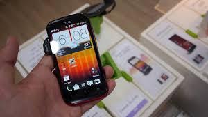 HTC Desire Q Smartphone Hands On - YouTube