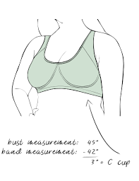 Bra Size Chart Letters How To Measure Your Bra Size Dia Co