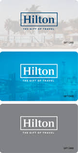 the hilton gift card is accepted at all hotels within the hilton portfolio this card can be used at on property restaurants rel s golf courses and