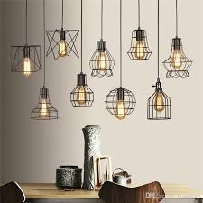 retro lighting pendants. discount retro lamp shades industry metal pendant lamps holder vintage style iron hanging light shade edison bulb covers drop shipping schoolhouse lighting pendants