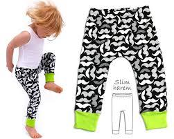 Baby Leggings Pattern Amazing Leggings Pattern Harem Pants Pattern Harem Leggings Etsy
