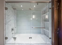 tile tub deck luxury upstairs guest bath ann sacks lucian glass tile in mist gloss
