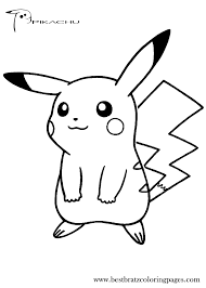 Beautiful Pikachu Coloring Pages 39 About Remodel Gallery Coloring ...