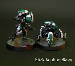 black brush studio miniature painting services infinity the game yu jing
