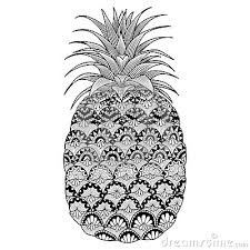 Small Picture pineapple outline fruit pineapple coloring page free 580x819
