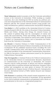 political communication 14