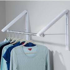 wall mounted clothes rail. Wall Mounted Clothes Hanger Awesome QuikCloset Garment Rack Portable Closet In 2 Rail
