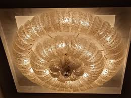 spectacular large ceiling light from houses of parliament in rome palazzo di montecitorio sede della dei deti italian 1970 s by barovier