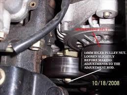 nissan sentra serpentine belt adjustments diy nissan sentra serpentine belt adjustments diy