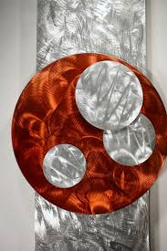 >art home decor metal wall art wall art designs personalized wall  orange art metal wall sculpture abstract home decor painting theater orange modern original ar