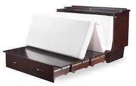 Murphy Bed Furniture Nantucket Queen Murphy Bed Chest Bed Espresso By Atlantic