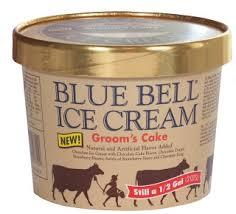 Blue Bell Ice Cream Grooms Cake Shespeaks