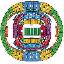 Seating Chart Superdome New Orleans New Orleans Saints Vs Tampa Bay Buccaneers 2 Tickets 09