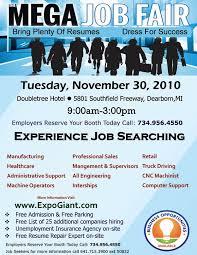 Job Fair Flyer Template | TeamTracTemplate's