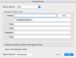 How To Format References Automatically Using Microsoft Word The