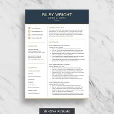 Etsy Resume Template Best Of Simple Etsy Resume Template Guide Resume Template
