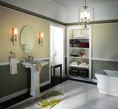 unique bath lighting. freestanding bathtub and towel storage with bathroom lighting fixtures also pedestal sink unique bath l
