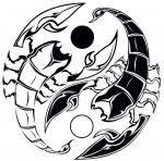 Motiv Tetování Zvěrokruh 1397
