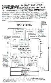 pioneer removable navi page 2 mx 5 miata forum pic of instructions for factory amp wiring scosche