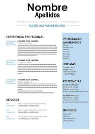 Formatos De Curriculum Vitae En Word Gratis Formato De Curriculo Gratis Para Descargar Diseño Cv Word