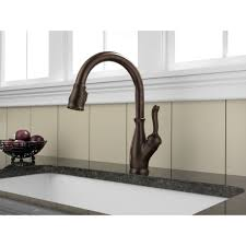Delta Pull Down Kitchen Faucet Delta Faucet 9178 Dst Leland Polished Chrome Pullout Spray Kitchen