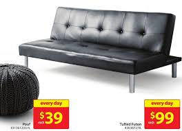 mainstays leather futon 99