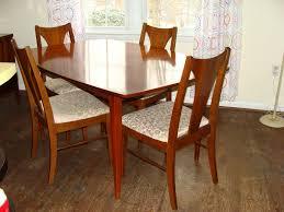 mid century modern dining room set