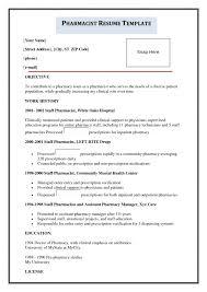 amazing pharmacist objective resume images simple resume office - Pharmacist  Objective Resume