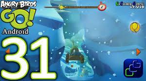 Angry Birds GO Android Walkthrough - Part 31 - Sub Zero: Track 3 - YouTube