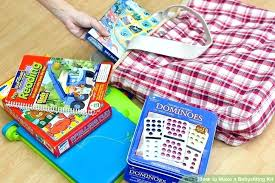 Fun Babysitting Ideas Babysitting Kit Babysitter Bag Filled With All The Items The