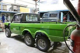 RANGE ROVER 6X6 Classic Pickup Truck Kit Project LAND ROVER ...