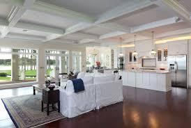 Flooring Open Floor Kitchen Designs Open Floor Plans A Trend For Contemporary Open Plan Kitchen Living Room