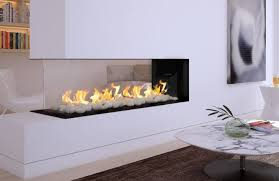flare fireplaces flare room definer peninsula linear fireplaces