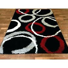 red and black rug gray area rugs ideas white rugby furniture direct of north ina vintage