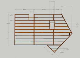 sketchup plan deck placement