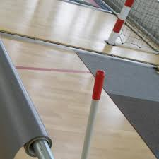vinyl sports flooring indoor for multipurpose gyms for exhibitions touchdown