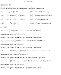ncert solutions for class 10 maths chapter 4 quadratic equations pdf