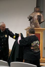 Memorial for Fallen Firefighter Alex Keepers Unveiled | Leesburg ...