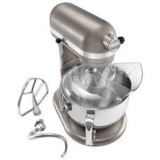 kitchenaid professional 600 lift bowl stand mixer 6qt 575 watt cocoa silver stand mixers best canada