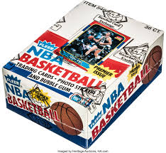 Often, we buy boxes or packs of sports cards with the sole purpose of flipping any of the hits. 1986 Fleer Basketball Wax Box With 36 Unopened Packs Lot 80827 Heritage Auctions