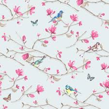 Butterfly Pattern Awesome NEW HOLDEN DÉCOR KIRA BIRD BUTTERFLY PATTERN FLORAL FLOWER MOTIF