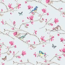 Butterfly Pattern Awesome NEW HOLDEN DÉCOR KIRA BIRD BUTTERFLY PATTERN FLORAL FLOWER MOTIF