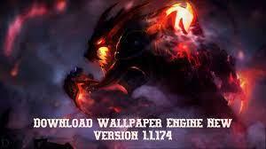 √ Wallpaper Engine Version 1.4.109 ...