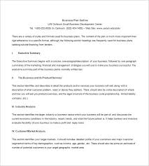 small business plan outline writing business marketing plan 12 company a limited business