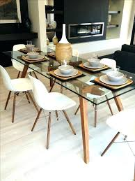 round glass table for 6 round glass dining table and chairs modern glass dining table best