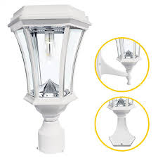 gama sonic victorian bulb solar light with gs solar led light bulb wall pier