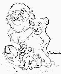 printable lion coloring pages lion family coloring pages printable lion coloring pictures