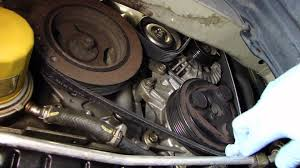 nissan quest serpentine belt change 2004 2009